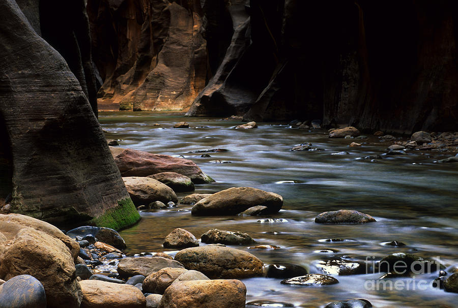 Virgin River Light Photograph