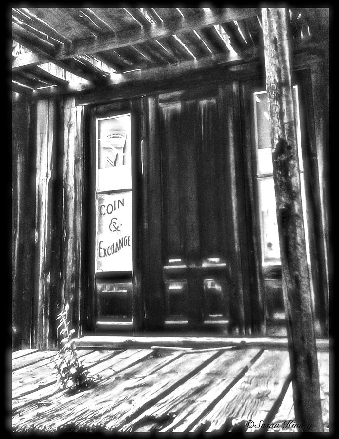 Virginia City Ghost Town Door II Photograph  - Virginia City Ghost Town Door II Fine Art Print