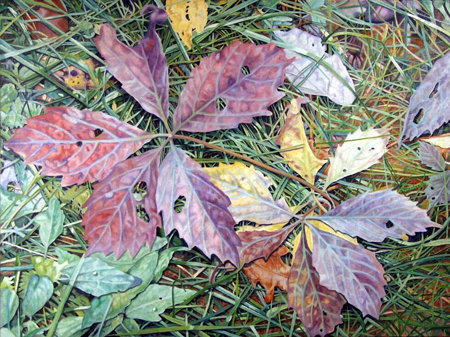 Virginia Creeper Painting
