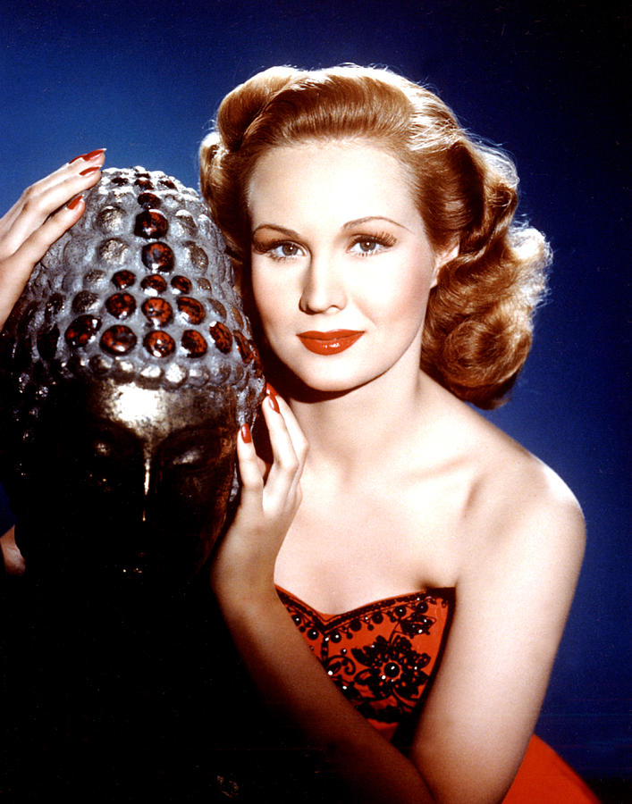 Virginia Mayo, Portrait Ca. 1940s Photograph