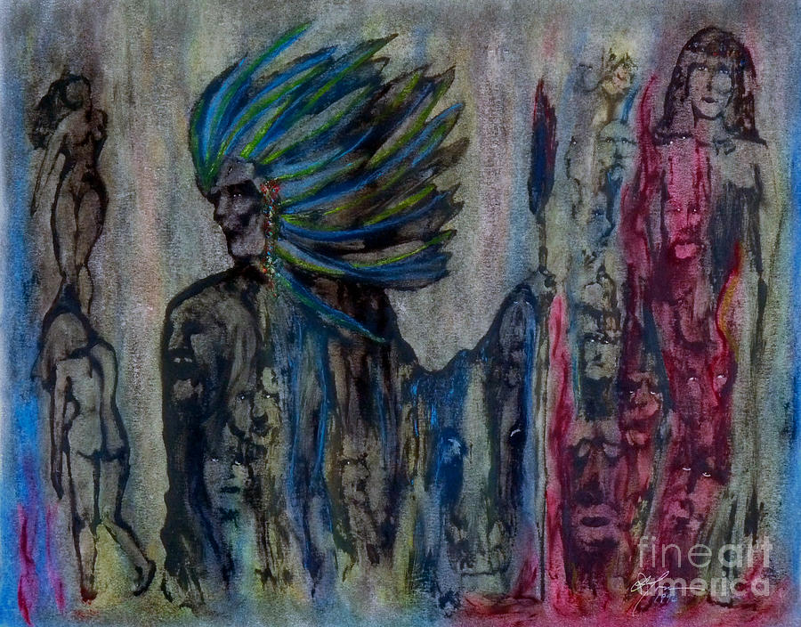Impressionism Painting - Visionary II by Linda May Jones