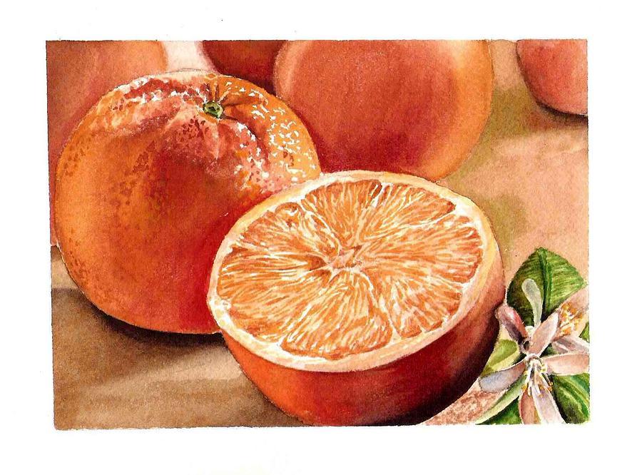 Vitamin C Painting