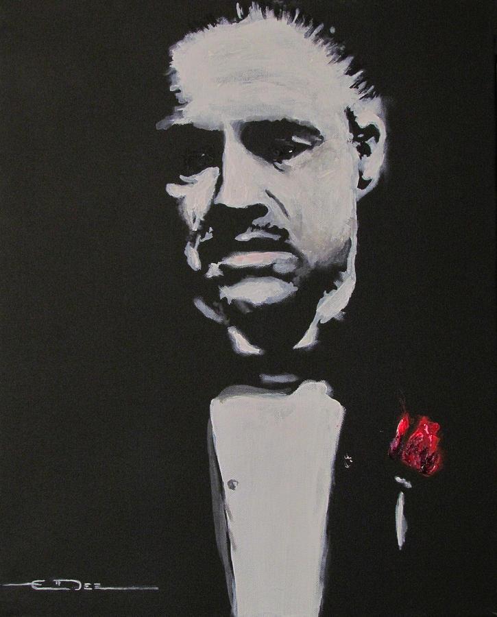Vito Andolini Corleone Painting