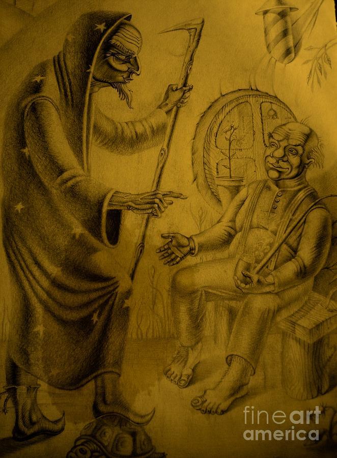 Vlastilin Of Rings Painting