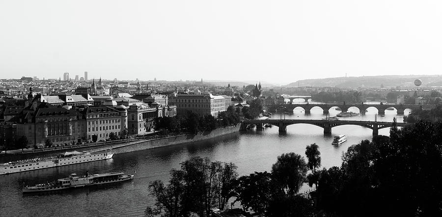 Vltava River At Prag Photograph