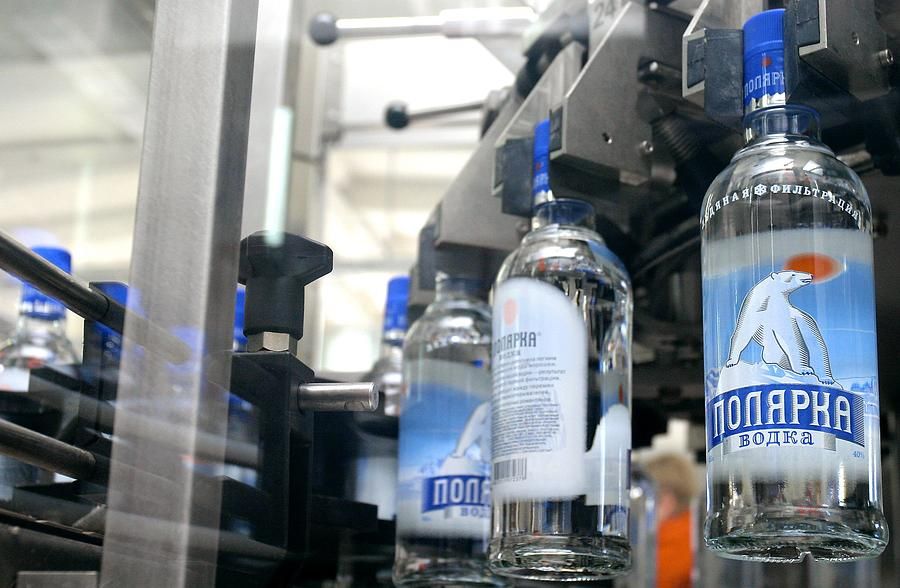Vodka Bottling Machine Photograph