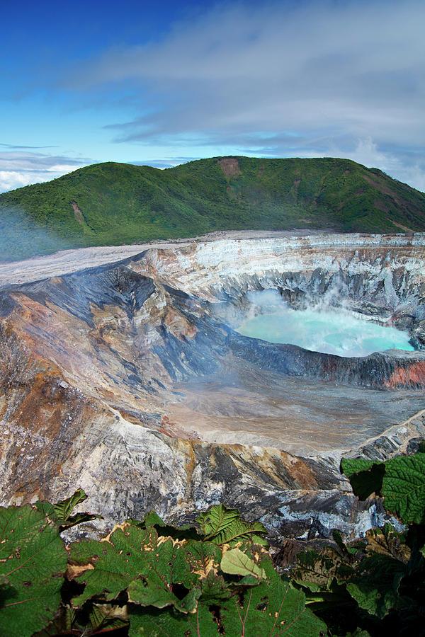 Volcan Poas Photograph