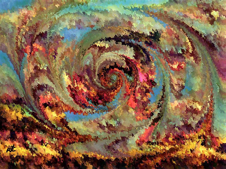 Volcanic Eruption Painting