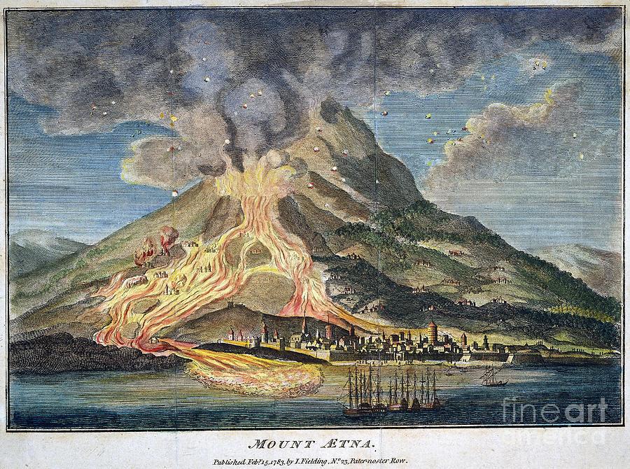 Volcano: Mt. Etna Photograph