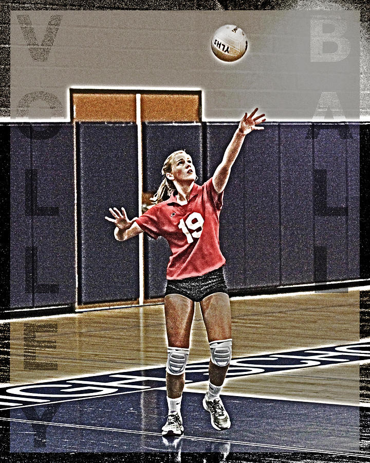 Volleyball Girl Photograph