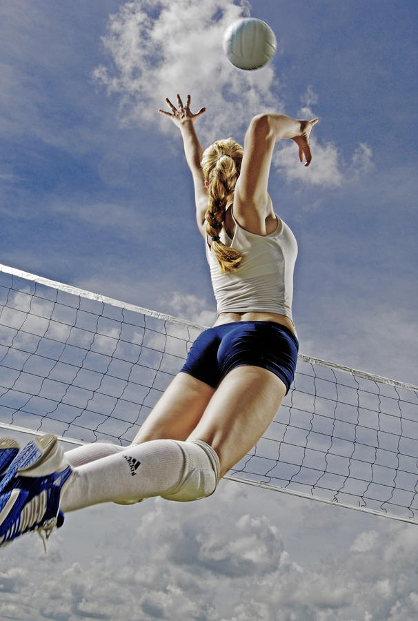 Volleyball Photograph
