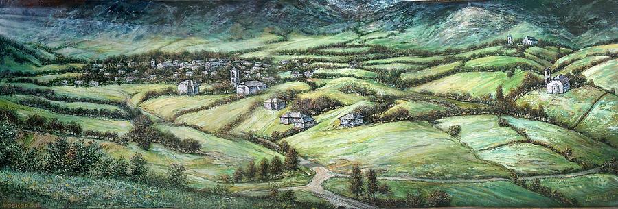 Voskopoja  Moscopolis Painting