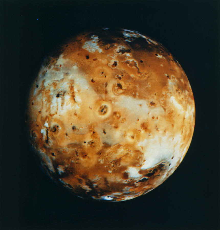 Voyager 1 Composite Image Of Jupiter's Moon Io Photograph ...