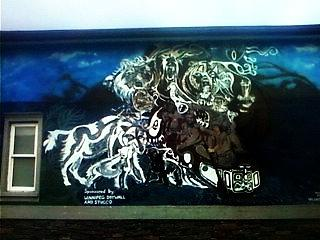 Voyager Mural Mixed Media