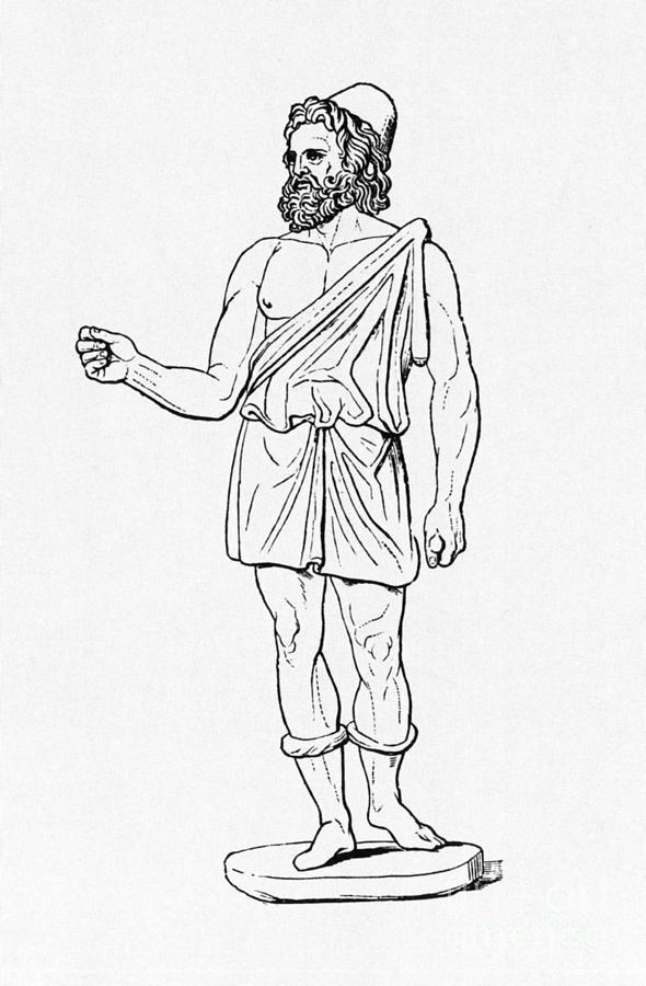 Vulcan, Roman God Photograph by Photo Researchers  Vulcan