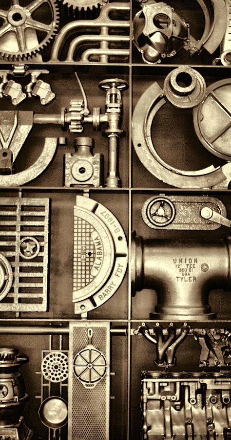 Vulcan Steel Steampunk Ironworks Photograph