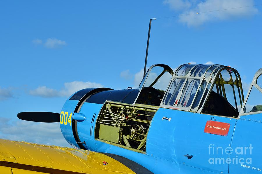 Vultee Bt-13 Valiant Photograph - Vultee Bt-13 Valiant  by Lynda Dawson-Youngclaus