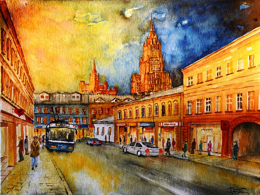 W 47 Moscow Painting  - W 47 Moscow Fine Art Print