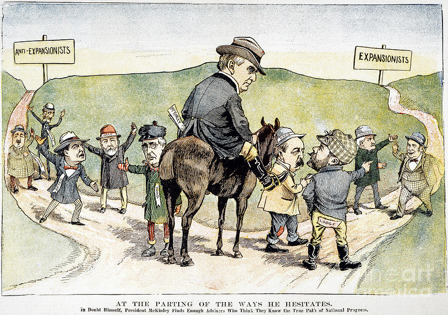 W Mckinley Cartoon 1899 Photograph By Granger