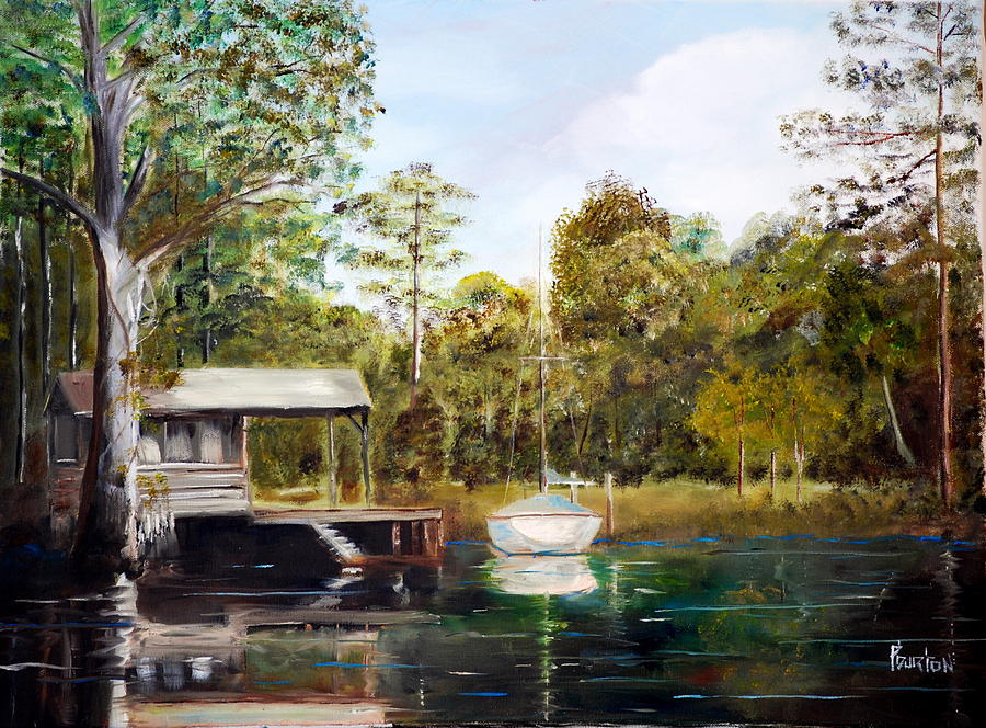 Waccamaw River Sloop Painting