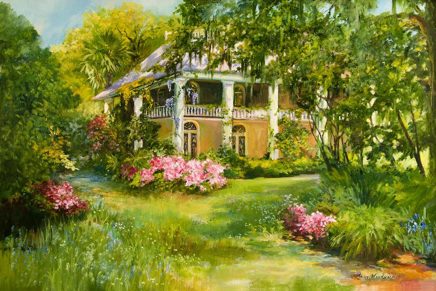 Wachesaw Plantation Painting