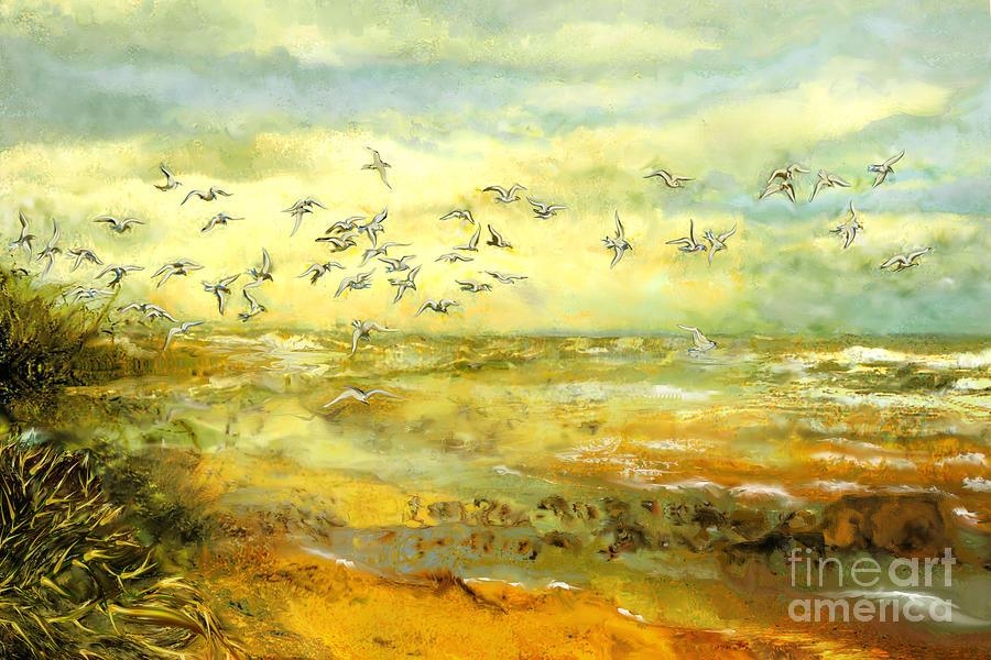 Wadden Sea Painting