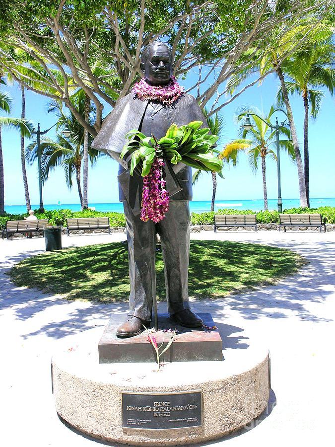 Waikiki Statue - Prince Kuhio Photograph