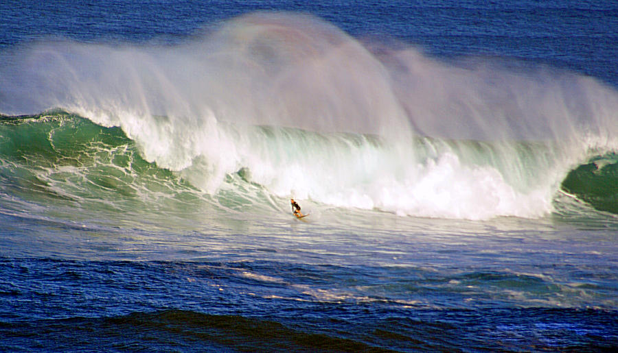 Waimea Bay Wave Photograph