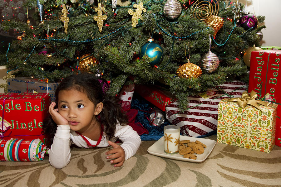 Waiting For Santa Photograph  - Waiting For Santa Fine Art Print