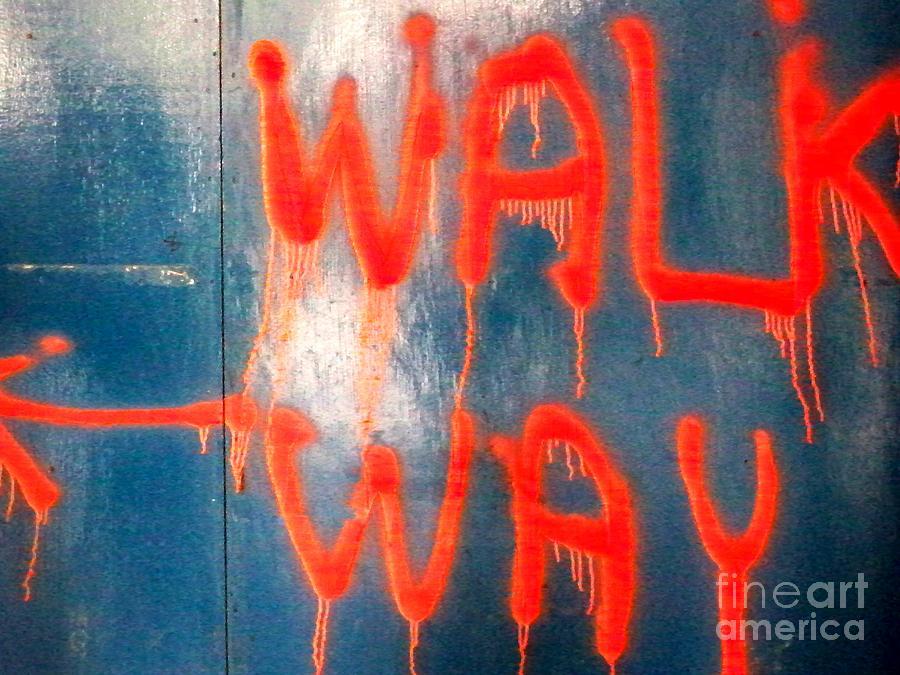 Walk Way Photograph