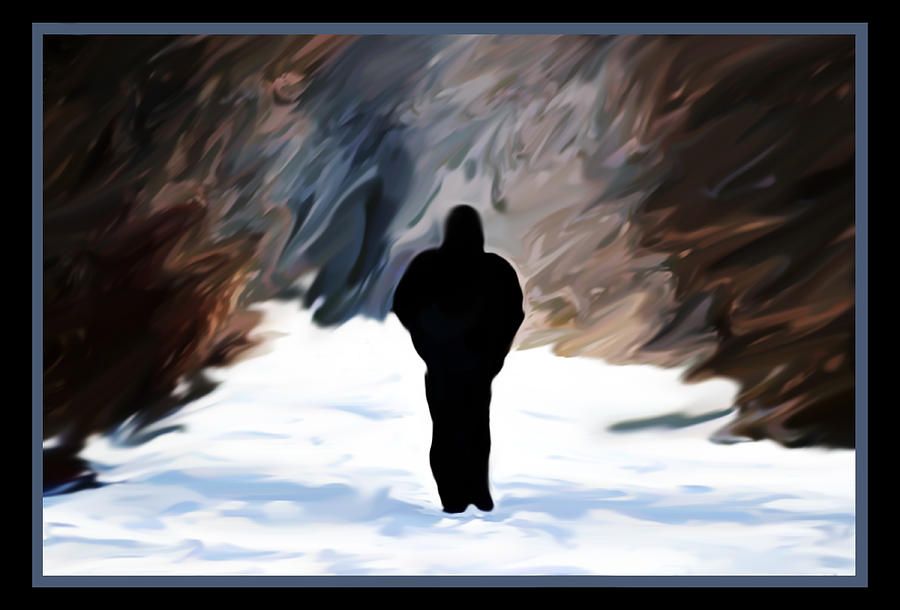 walking in the snow - photo #46