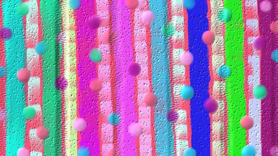 Wall Art Of Little Girl Room Digital Art