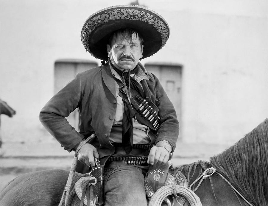 Wallace Beery (1885-1949) Photograph