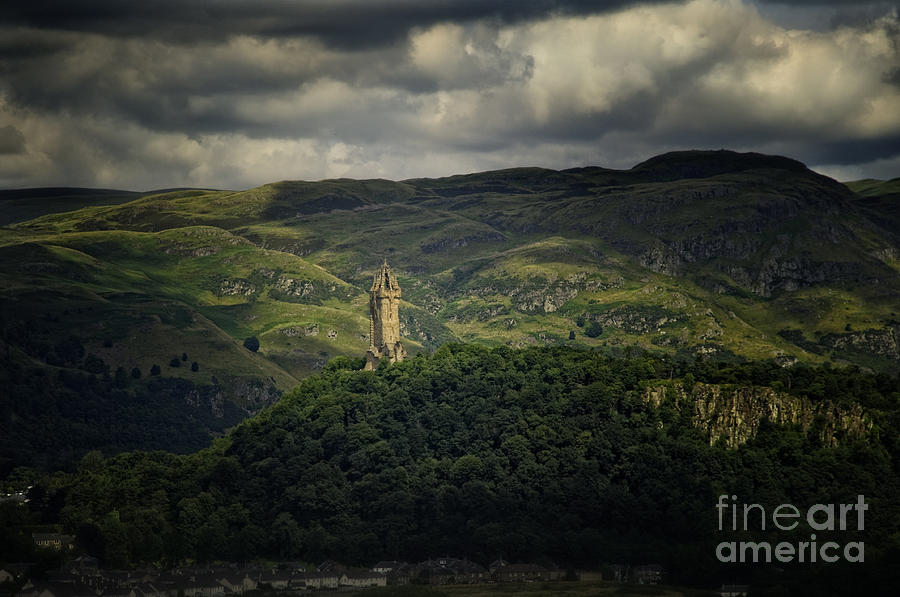 Wallace Monument Photograph  - Wallace Monument Fine Art Print