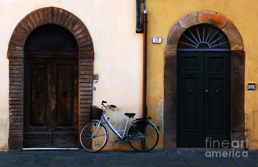 Walled City Of Lucca Photograph  - Walled City Of Lucca Fine Art Print