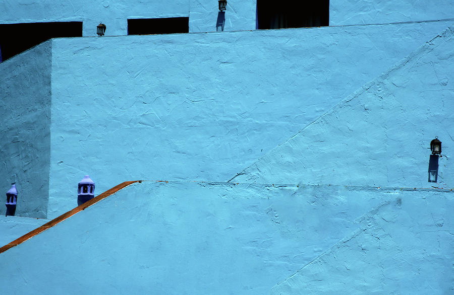 Blue Photograph - Walls In Blue by Piet Scholten