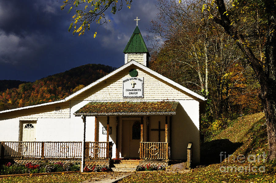Walnut Grove Church Photograph