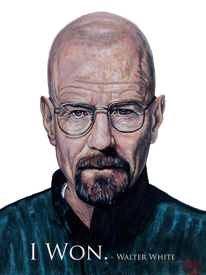 Walter White - I Won Painting  - Walter White - I Won Fine Art Print