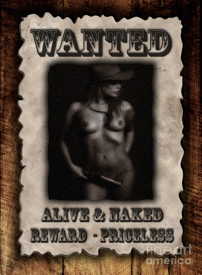 Wanted  Photograph  - Wanted  Fine Art Print