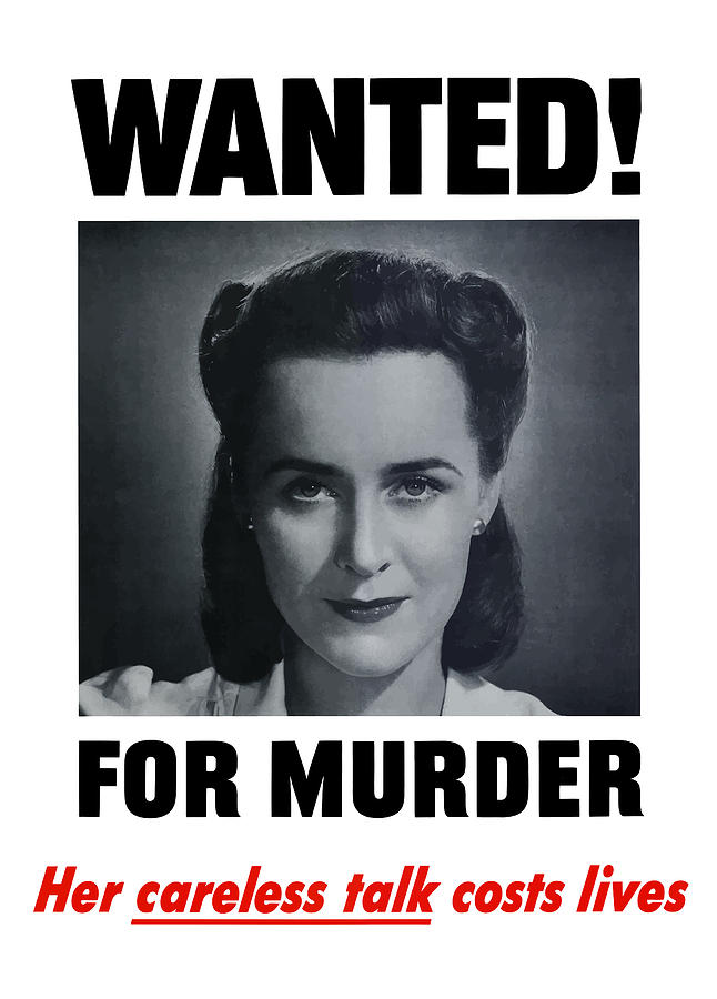 Wanted For Murder Painting