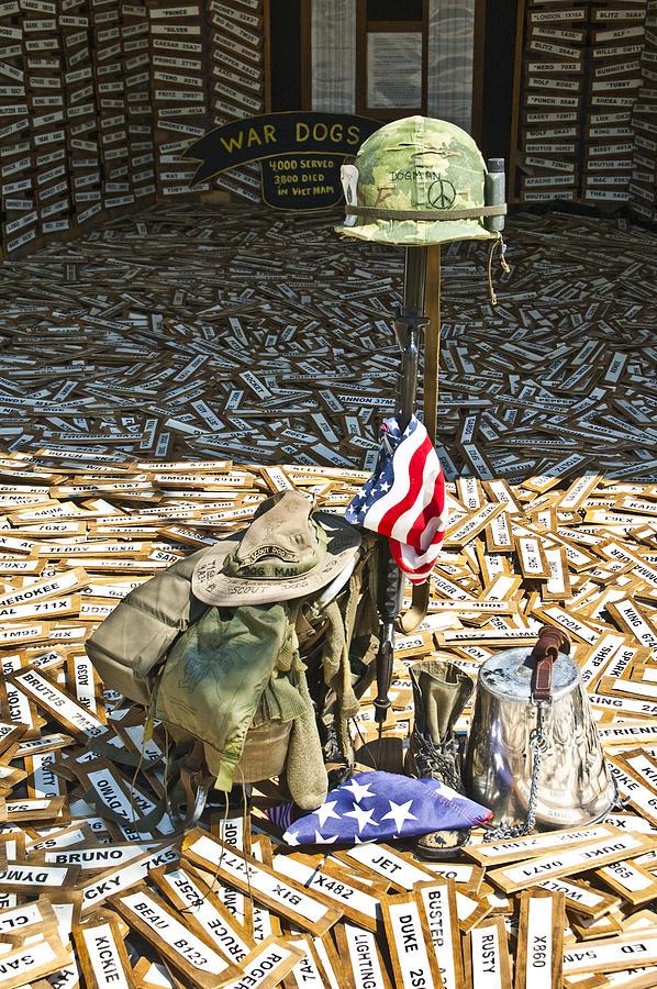 War Dogs Sacrifice Photograph