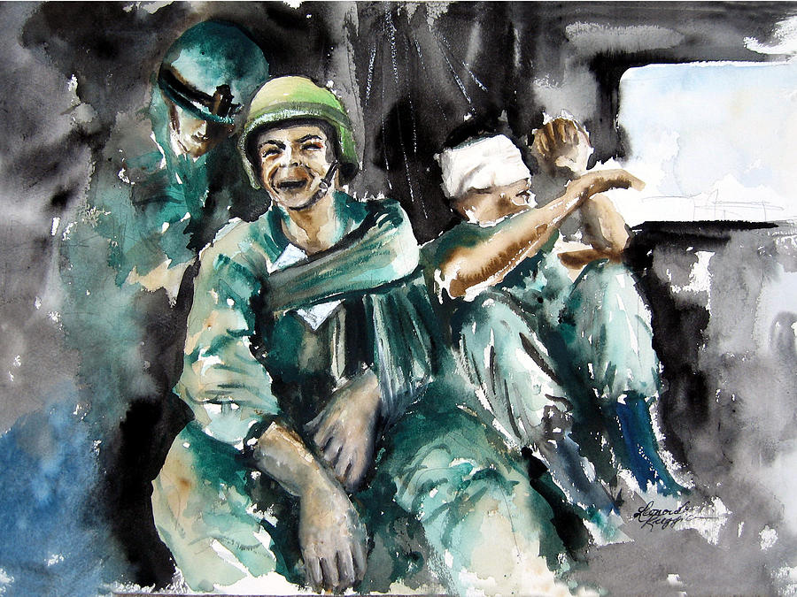 War  What Is It Good For Nothing Painting