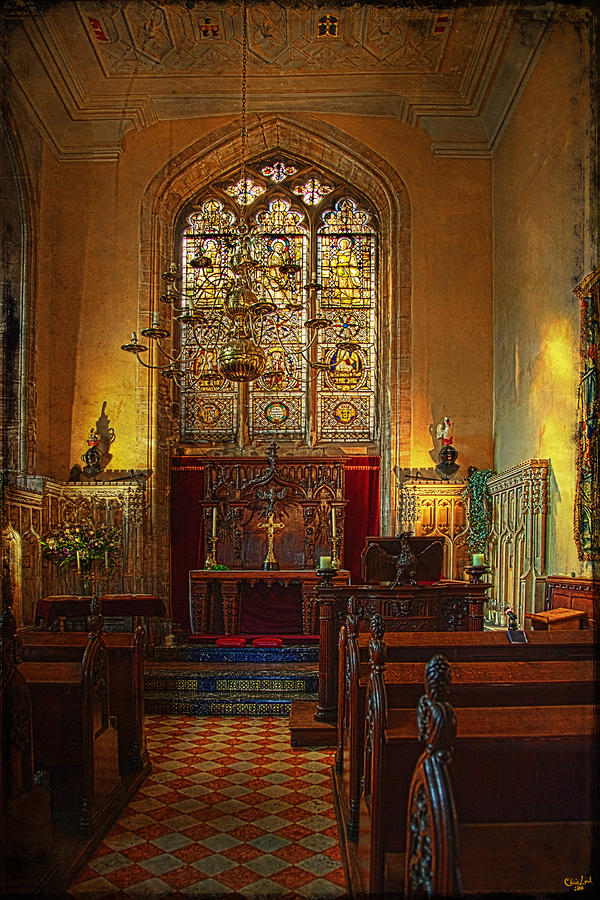 Warwick Castle Chapel Photograph