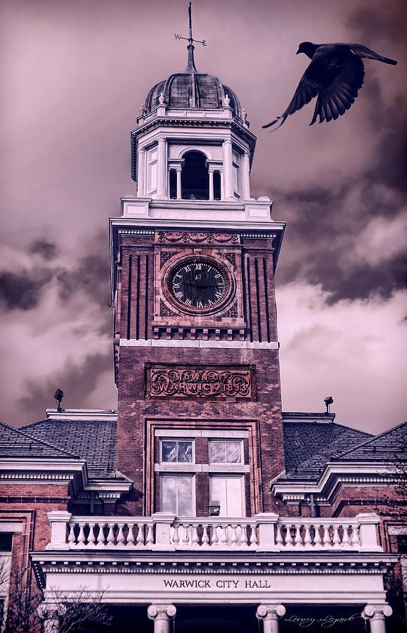 Rhode Island Photograph - Warwick City Hall by Lourry Legarde