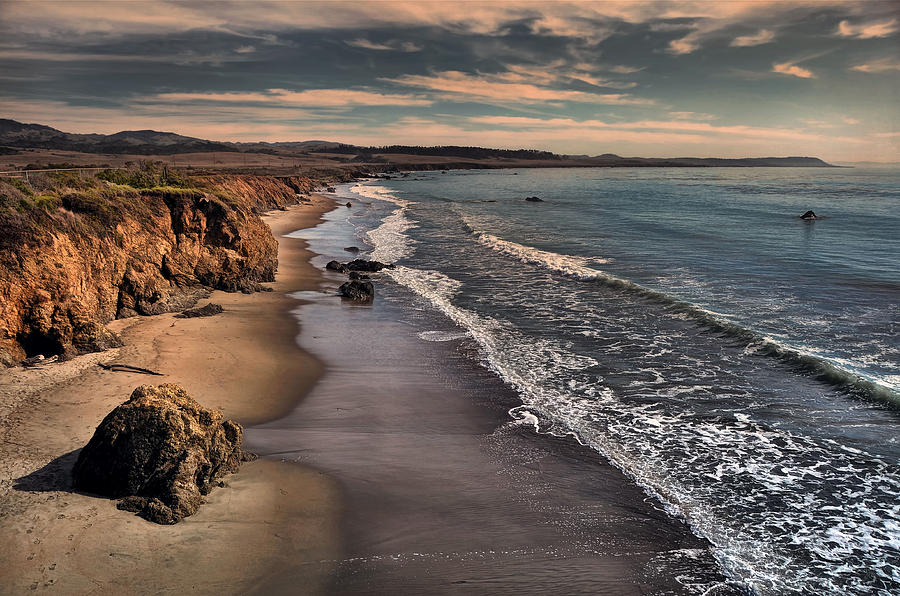 San Simeon Photograph - Washed Away By The Waves Of Time  by Bob Kramer