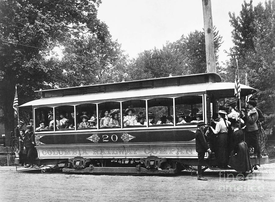 Washington Streetcar Photograph