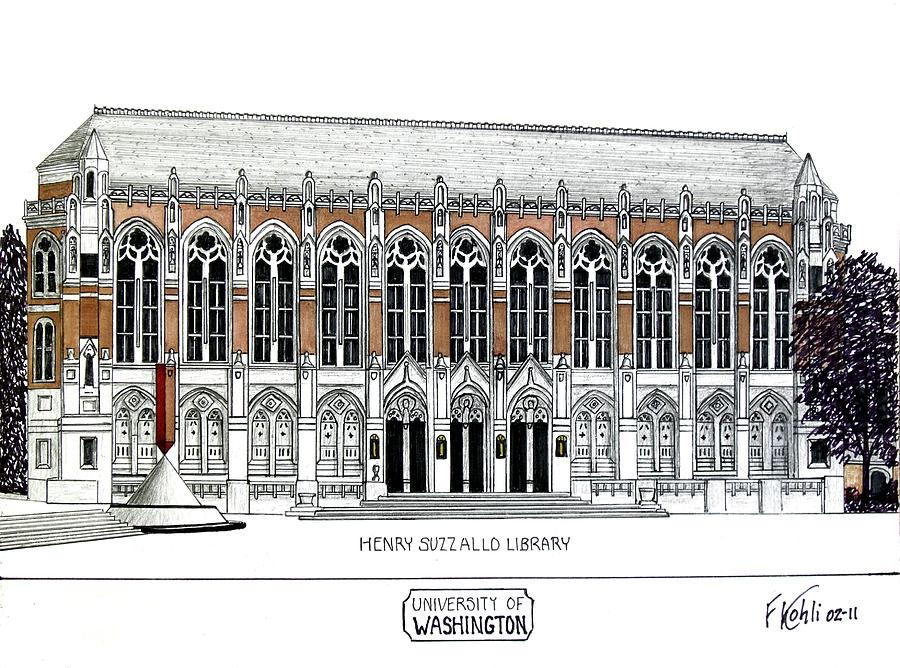 Washington University Drawing