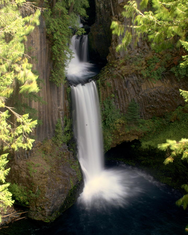 Washington Waterfall Photograph  - Washington Waterfall Fine Art Print