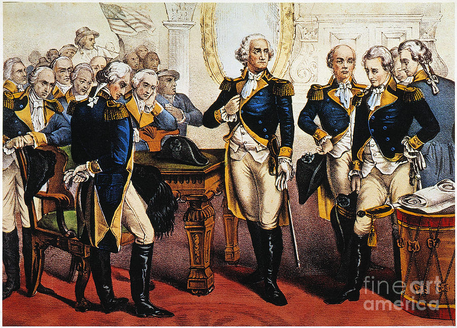 Washingtons Farewell Photograph  - Washingtons Farewell Fine Art Print