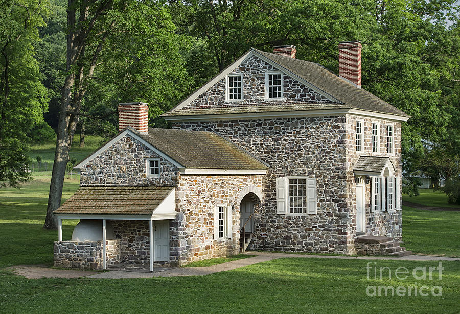 Washingtons Headquarters At Valley Forge Photograph  - Washingtons Headquarters At Valley Forge Fine Art Print